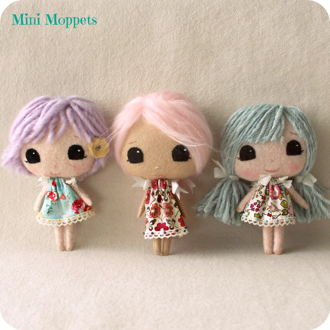 Small Toy Dolls : Gingermelon dolls free paper doll download and the mini