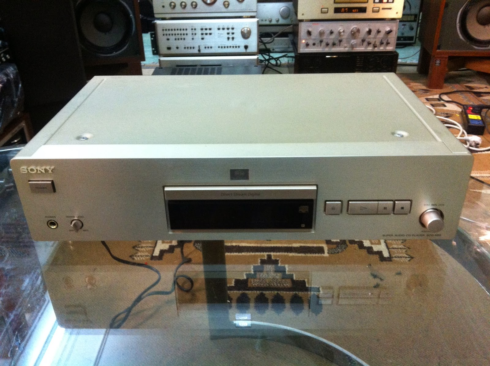 Đầu CD - Sony XCD-XB9 - Made in Japan
