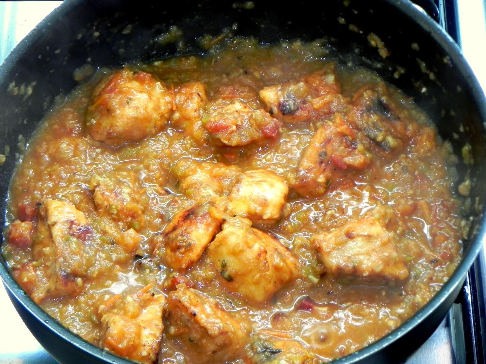 peito de frango cítrico e gratinado rápido de batatas