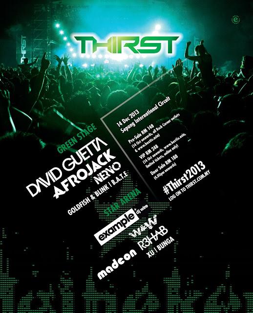 Heineken #Thirst2013 * New Line-Up Announcement *