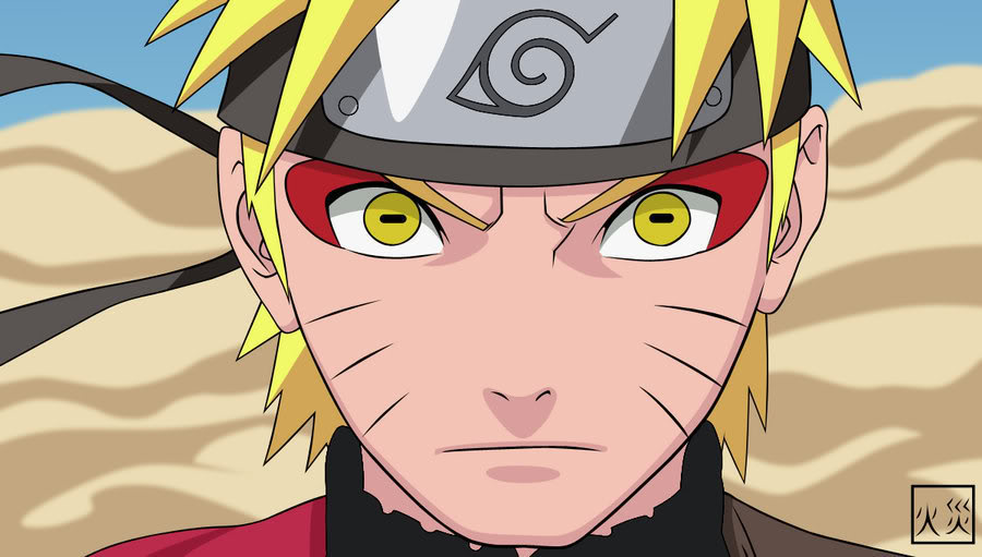 Why Hebi Sasuke... Naruto Sage Mode Kyuubi Eyes