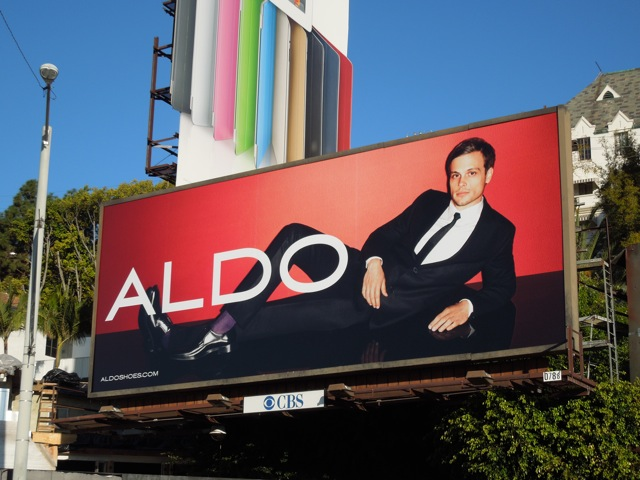 Aldo Matthew Gray Gubler billboard