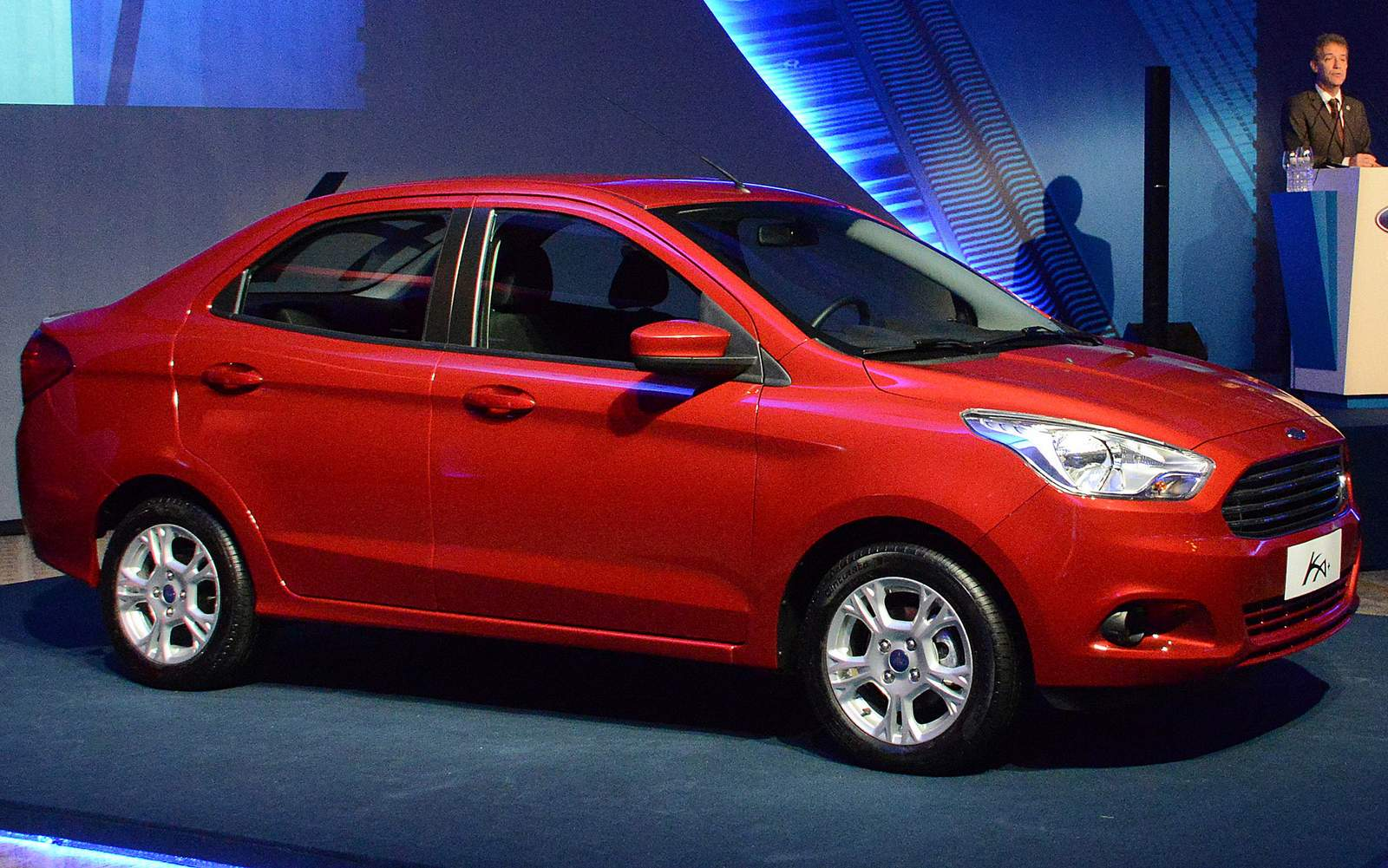 Novo ford ka sedan 2015