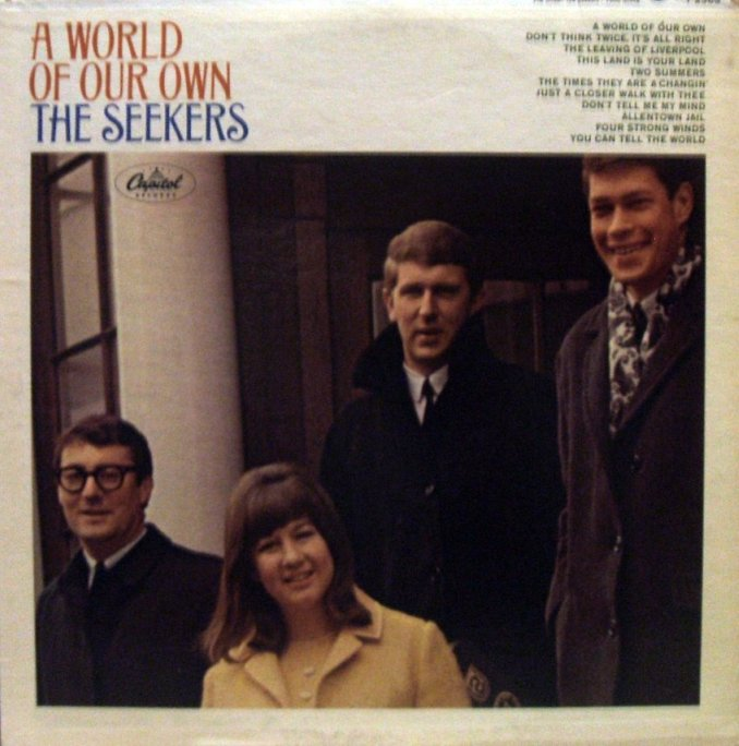 Vinyl Exam A World Of Our Own The Seekers