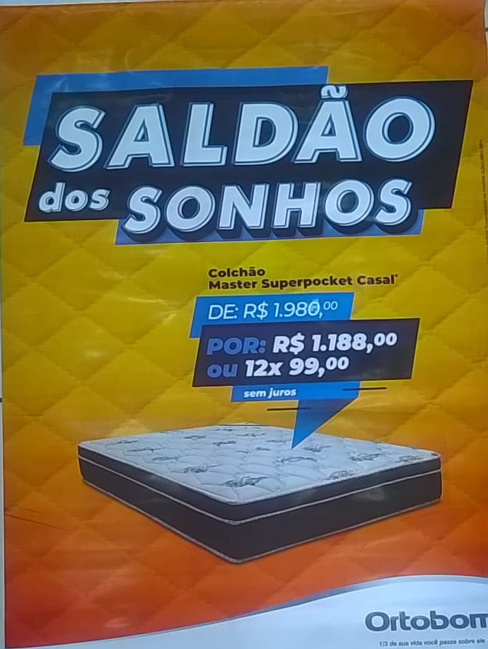 Colchões Ortobom em São Luiz Gonzaga