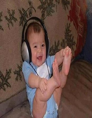 Photo bébé - bébé drôle