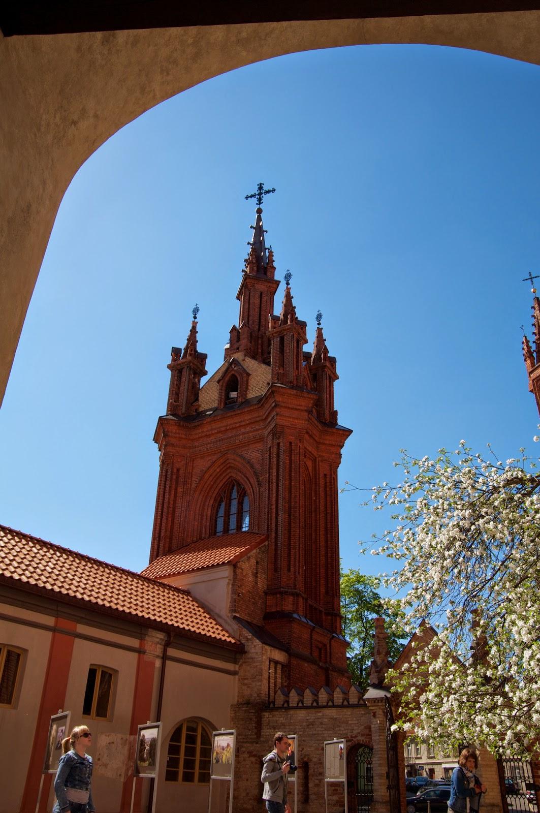 Костел Святой Анны, костел, Вильнюс, Латвия