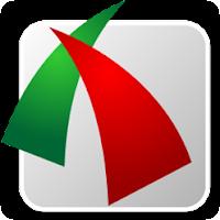 berwarna merah dan hijau background putih