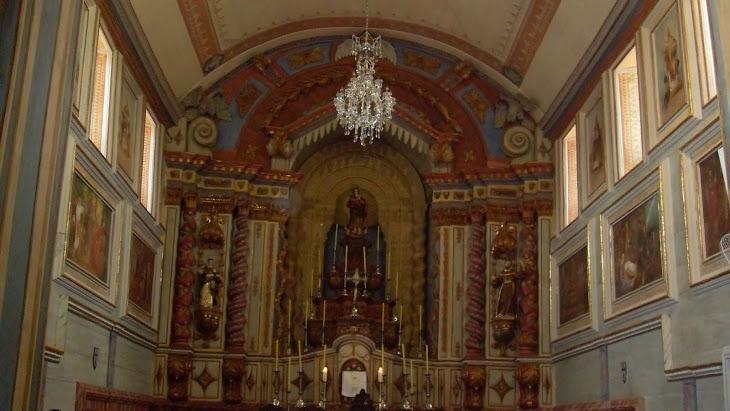 capela mor restaurada
