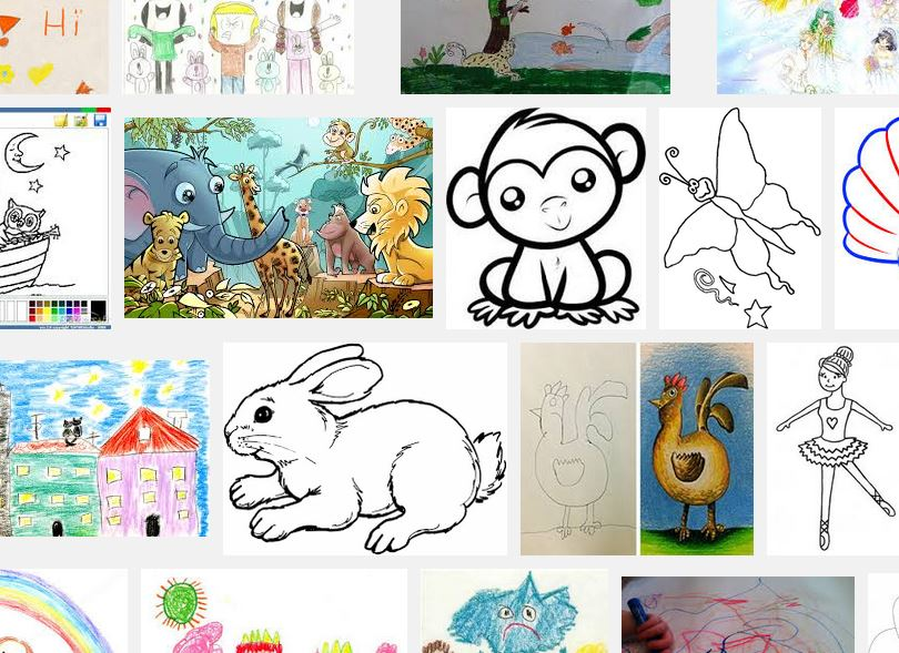 drawing for kids art and craft ideas