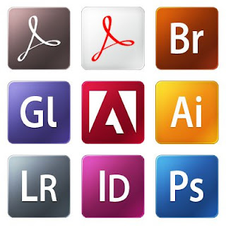 Adobe CS5 logo icons