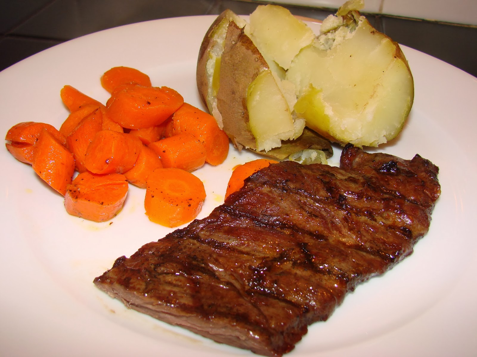 ... skirt steak with roasted potatoes and lemon recipe yummly skirt steak