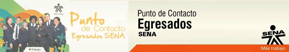 PUNTO DE CONTACTO, EGRESADOS SENA