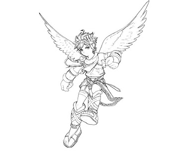 #6 Pit Coloring Page