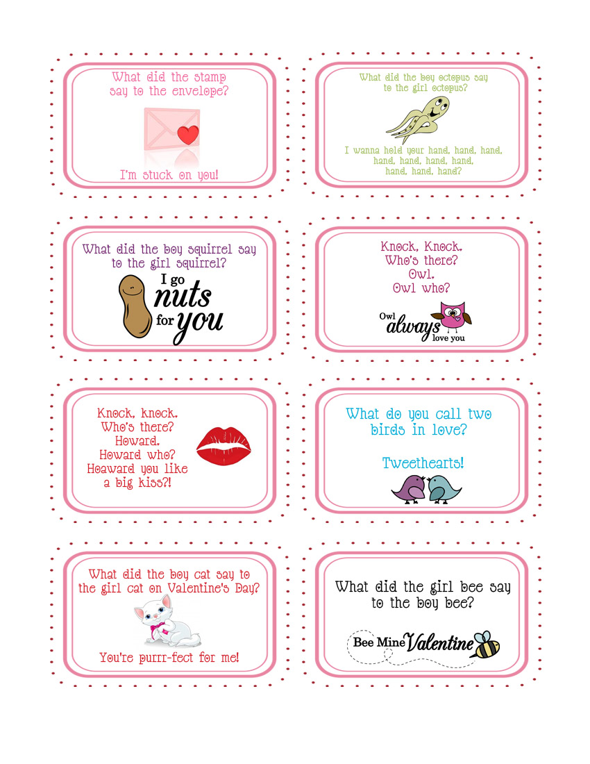 Since Cailyn Loves Little Jokes In Her Lunch Box I Figured I Would Make  Some For Valentineu0027s Day. You Can Download Them HERE.