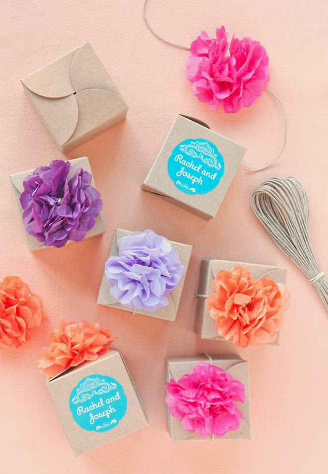 10 amazing diy wedding favors part 3 belle the magazine for Wedding favor supplies