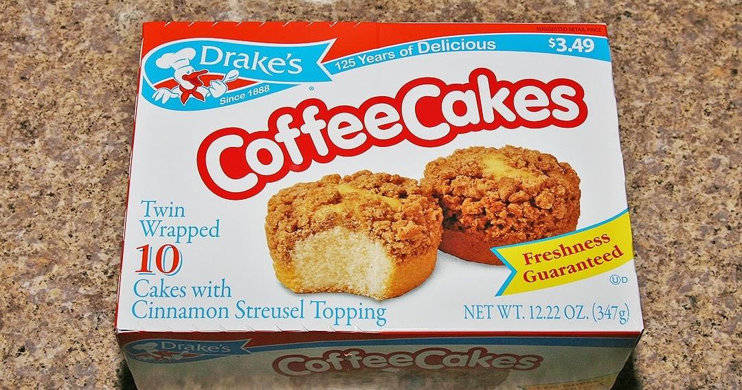 The Shit I Eat Drakes Coffee Cakes