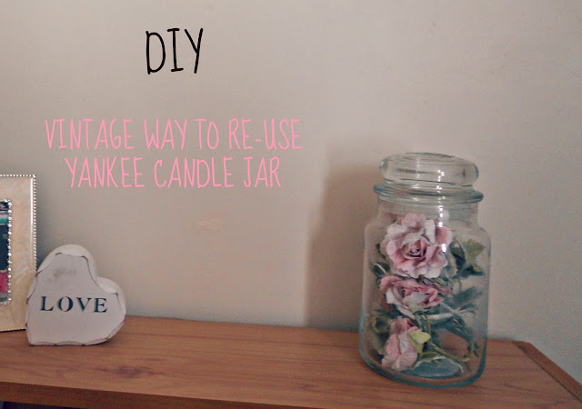 DIY Vintage Deco for Bedroom