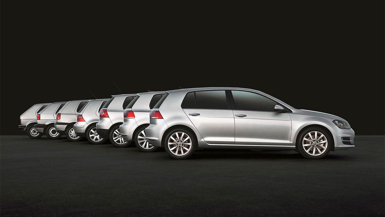 Volkswagen Golf - Forty years