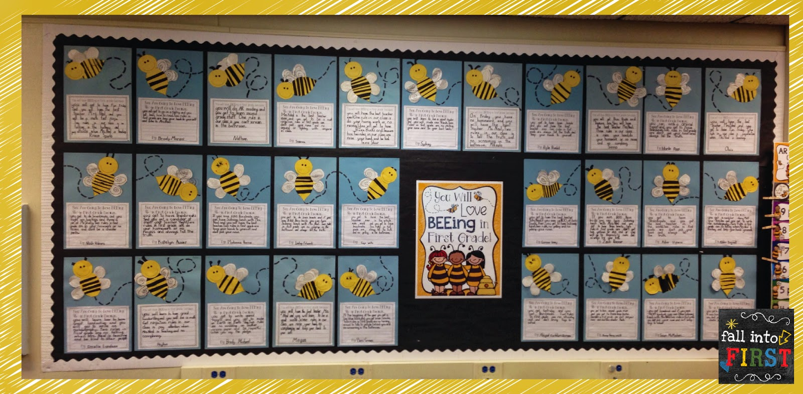 Classroom Theme Ideas Bees ~ Fall into first may