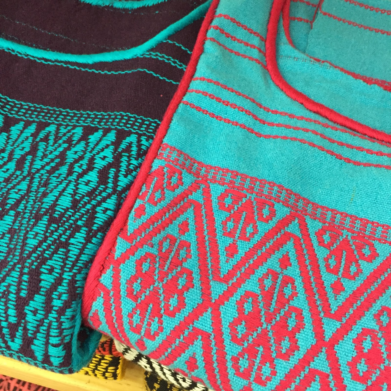 on trend today color inspiration mexican textiles