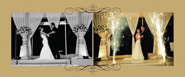 Diagramação álbum de casamento