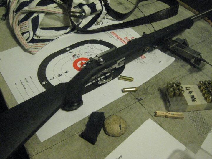44 magnum rifle ruger. Ruger .44 Magnum Rifle (Bolt