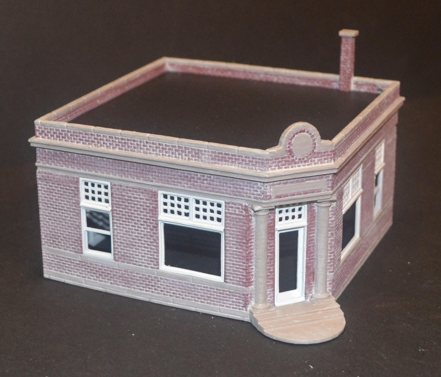 Nirvana Valley Model Railroad Chilhowee State Bank 3d