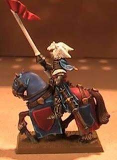 Caballero del Reino de Bretonia de Warhammer