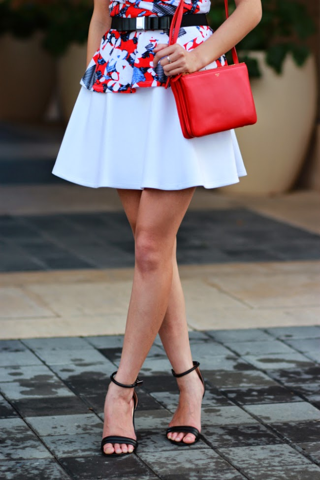 wearing top over dress skirt idea fashion