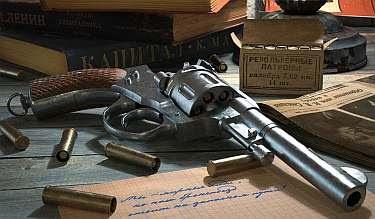 На фото: револьвер системы Нагана