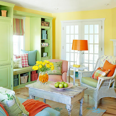 Wall  Ideas  Living Room on Modern Furniture  Fresh Living Rooms Decorating Ideas 2011 For Summer