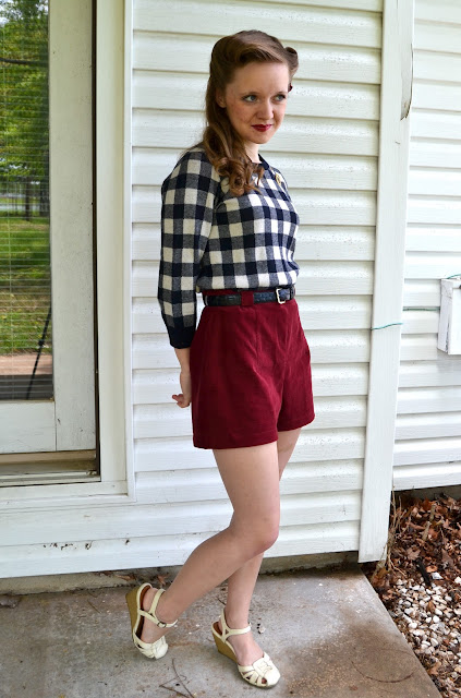 Flasback Summer: Finding Fabric on a Budget- Butterick 9779