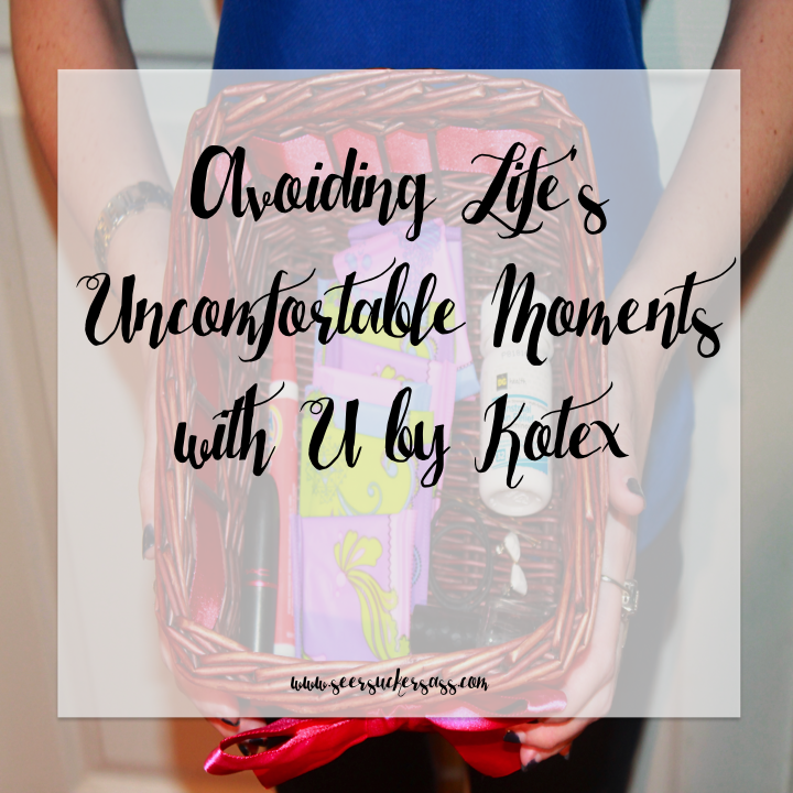 Avoiding Life's Uncomfortable Moments with U by Kotex