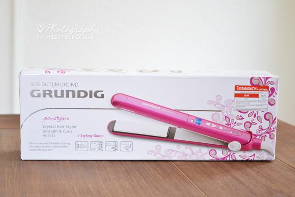 Grundig Crystal Hair Styler Straight & Curls HS 5732 Verpackung