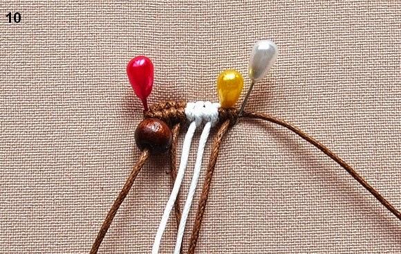 طريقة صنع حلق بالمكرامي