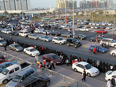 Bahrain 8km human chain