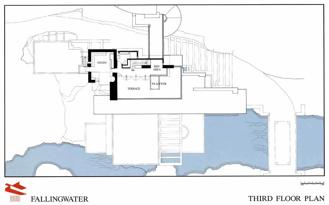 La Casa De La Cascada 1 Planos Asociacion De Decoradores De - Planos-de-casas-en-l
