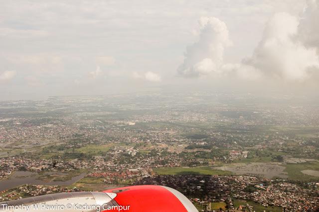 Indonesia - Sulawesi Selatan - Penerbangan dari Jakarta menuju Makassar