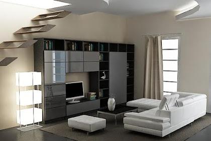 Konsep Desain Interior Ruang Keluarga Livingroom Terbaru 2014 Minimalis Elegan Mewah