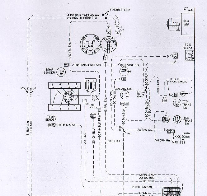 Free Auto Wiring Diagram  Chevrolet Camaro Z28 Engine