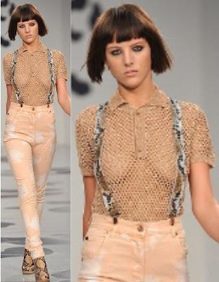 9 Weirdest Clothes at London Fashion Week: Net Polo Shirt