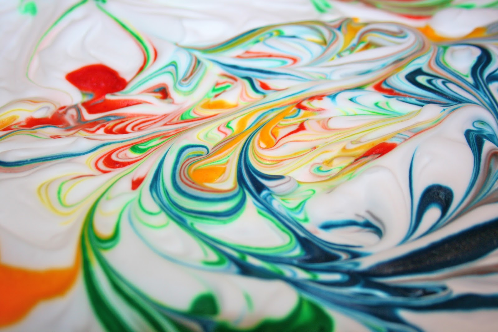 shaving cream art Food Coloring Guide  Shaving Cream Food Coloring Art