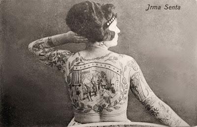Vintage Circus Tattoo