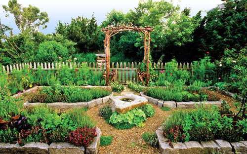 Backyard Vegetable Garden Layout : Foy Update Vegetable Garden Design Inspiration  Le Potager