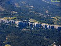 Zoom als Cingles de Vallcebre des del Roc dels Quatre Batlles. Autor: Ricard Badia