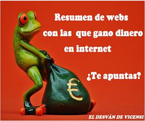WEBS PARA GANAR DINERO