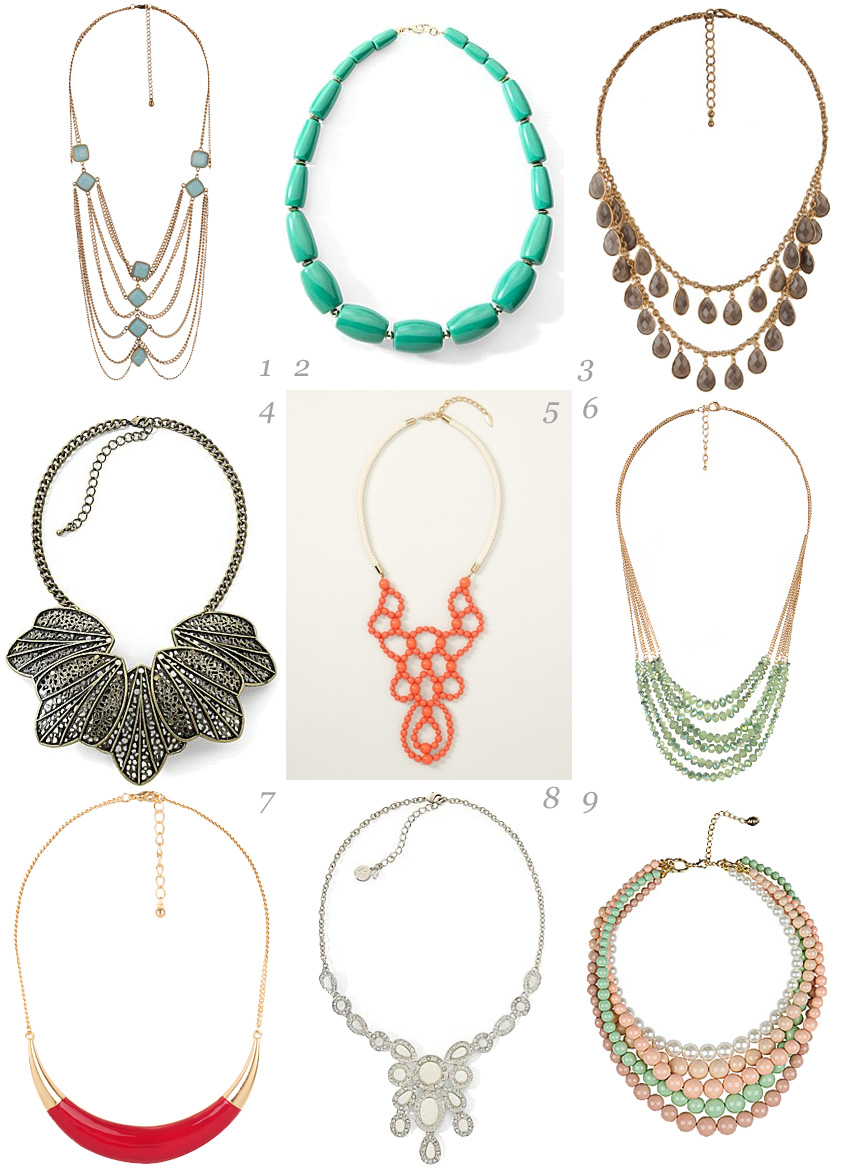 facebook cokers best spring trends fashion necklace runway trend for jewelry craze
