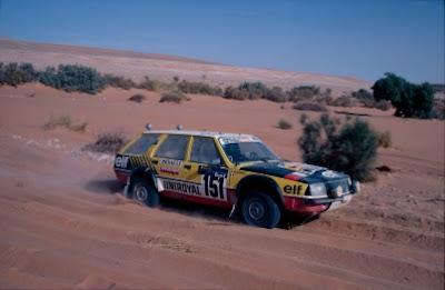Renault 18 Break w rajdzie Paryż Dakar 1983 r.