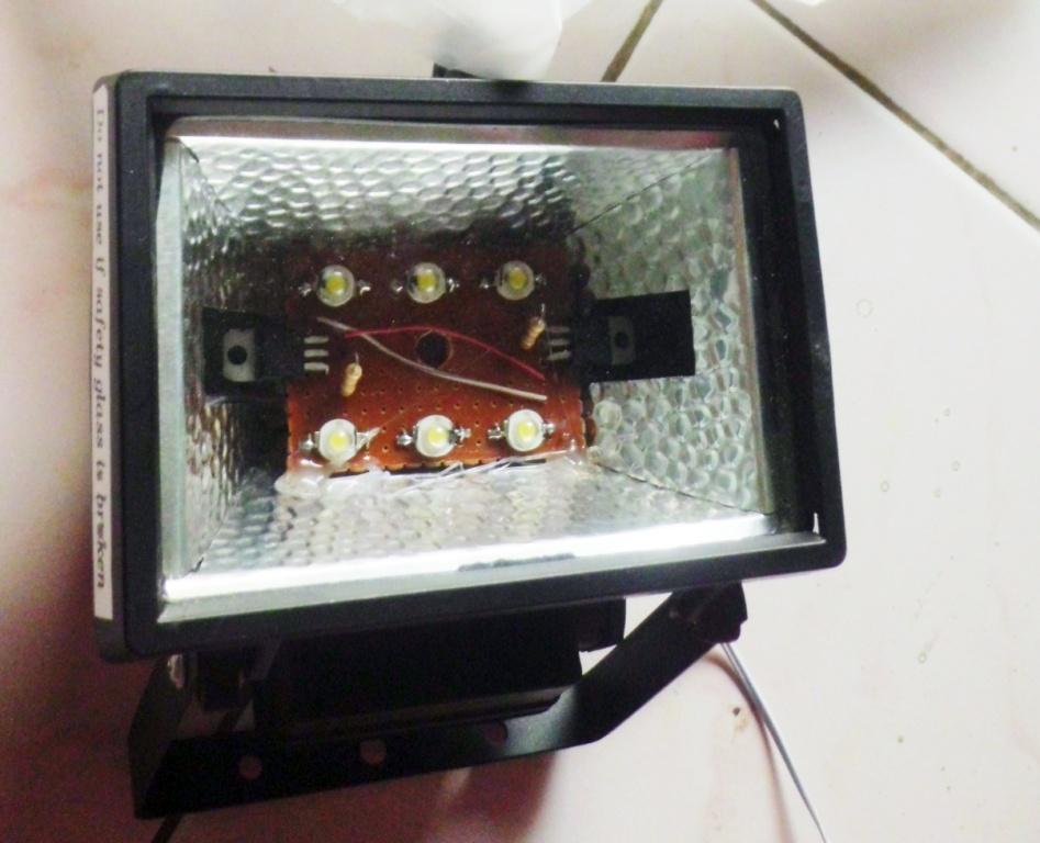 Membuat Lampu Led Untuk Keperluan Video Atau Fotografi